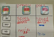 Primary Grammar / Grammar: suffixes, parts of speech, contractions, syllables, capitals