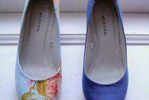 Diy paint shoes