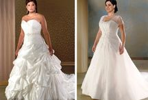 Plus Size Wedding Dresses / Inspiration and Ideas for styles that look good on plus sizes for their wedding dress. / by Avail & Company