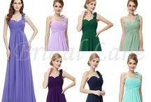 Bridesmaid Dresses - at Bridal Lane, Cape Town / Bridesmaid designs, available in a variety of colours, in sizes 6 to 18.  Available from Bridal Lane (Cape Town) - www.bridal-lane.com