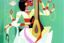 Sanjay Patel / artista de deuses hindus