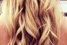 Simple, elegantly messy Hair styles