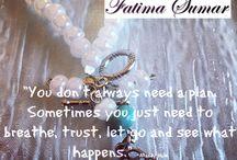 Motivational Mondays / Designs by Fatima Sumar Inspirational Quotes