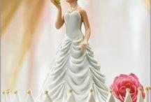Muñecos de la tarta de boda // Wedding cake toppers / Los muñecos de la tarta de boda son importantes porque es el elemento que decora y culmina el pastel. En Ángel Alarcón te mostramos los más curiosos, llamativos o bonitos que vamos encontrado por internet. Wedding Cake Toppers