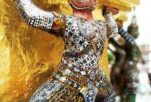 Bangkok - Thailand / The faces of the Buddha in Bangkok