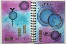 Art Journal by Daniela Rogall / Kunsttagebuch - Gedanken, Gefühle, Ideen, Techniken