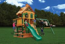 PLAYSETS / Get your kids outside and staying active with these fun Outdoor Playsets for Kids. Mom's Bunk House carries a wide range of top quality playsets that both boys and girls are sure to love. You'll be happy knowing that our playsets are made by leading brands, and come with our guarantee of safety, durability, and customer service.