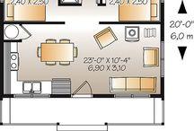 Мини-дома / Идеи мини-домов, интерьерных решений
