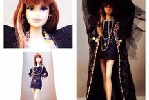 Katrina Moses Countess, mystical and mysterious character / Removable outfit, eyes, make-up, jewels