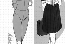 forme dessin mangas