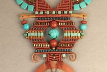 Amazing unique jewerly / Amazing unique jewerly. Women's fashion assessories. Mixed media, polymer clay, wire, copper, stones, silver, gold. / by Sweetly Art