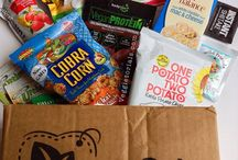 Vegan Cuts September Snack Box / We're ready for fall! Take a look at the yummy snacks that were included in the September Vegan Cuts Snack Box. What was your fave?  P.S. We're getting spooky for October. Make sure you're signed up: http://bit.ly/vegansnackbox