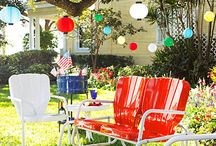 HOME: Dreamy Outdoor Spaces / Retro-Inspired | Colorful | Eclectic | Full of Whimsy / by `a casarella