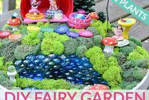Anna fairy garden
