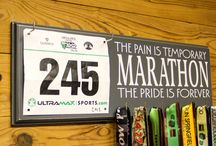 Marathon Medal Displays / by Strut Your Stuff Sign Co
