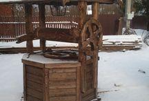 Идеи для дома / изделия из дерева под старину. идеи.