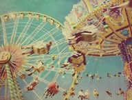Amusement parks, Carnivals, Rides, and more