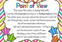 Point of View / by Learning With Mrs. Santillana