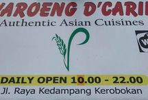 Bali recommended restaurants