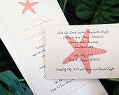 Custom Destination and Beach Themed Wedding Invitations