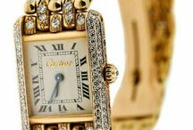 cartier watches and clocks