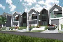 Designed terraced house