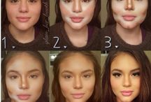 Makeup // contouring / Highlight, baking, strobing, contouring
