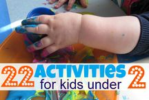 Activities for the smallest ones