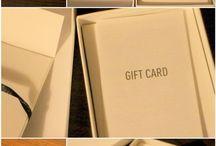 karty prezentowe i inserty