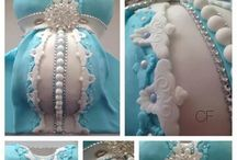 Pregnant Belly Cakes