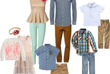 **Family Shoots Wardrobe Ideas** / Don't know what to wear to a shoot? Here's a couple of ideas!