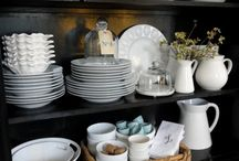Dishes Cabinet Displays