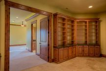 Library / Book cabinets & old wood