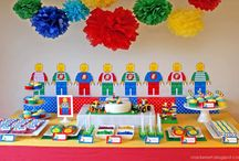 Lego Birthday Party / 5th Birthday Party Lego Theme