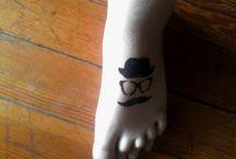 funky feet