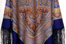 My russian shawls collection