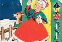 Vintage Christmas / by Sue Hoffman