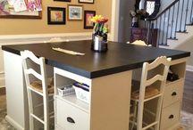 Dining room table vs kids work station