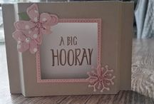 My own projects! / My own products created with Stampin'Up! products.