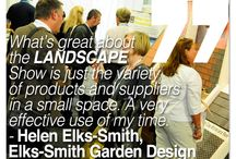 Landscape 2014 Quotes / Thoughts from the Exhibitors & Speakers of LANDSCAPE 2014. Twitter @landscapeevent