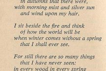 Poetry of the hobbit & lord of the rings