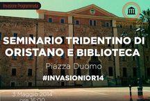 #InvasioniOR14 / Diario personale dell'Invasione Digitale al Seminario Tridentino di Oristano e alla sua Biblioteca [3 Maggio 2014 ore 16]