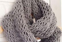 knit scarve