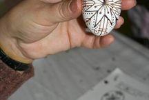 tojás festés
