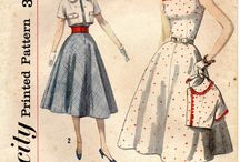 Vintage patterns / by Little Field Birch