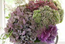 inspirations / flower arrangements