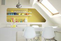 Futuristic colors | Futuristisch interieur