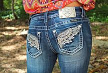 Wing jeans
