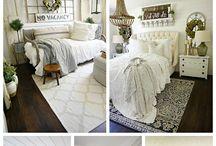 White Farmhouse Decorating