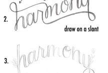 DIY // Journal // Fonts